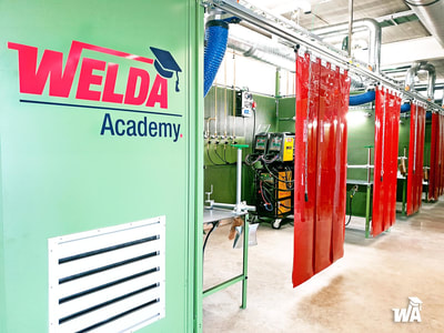 Lascabines in Welda Academy